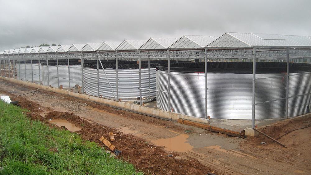 Емкости 50 м³, 60 м³, 90 м³