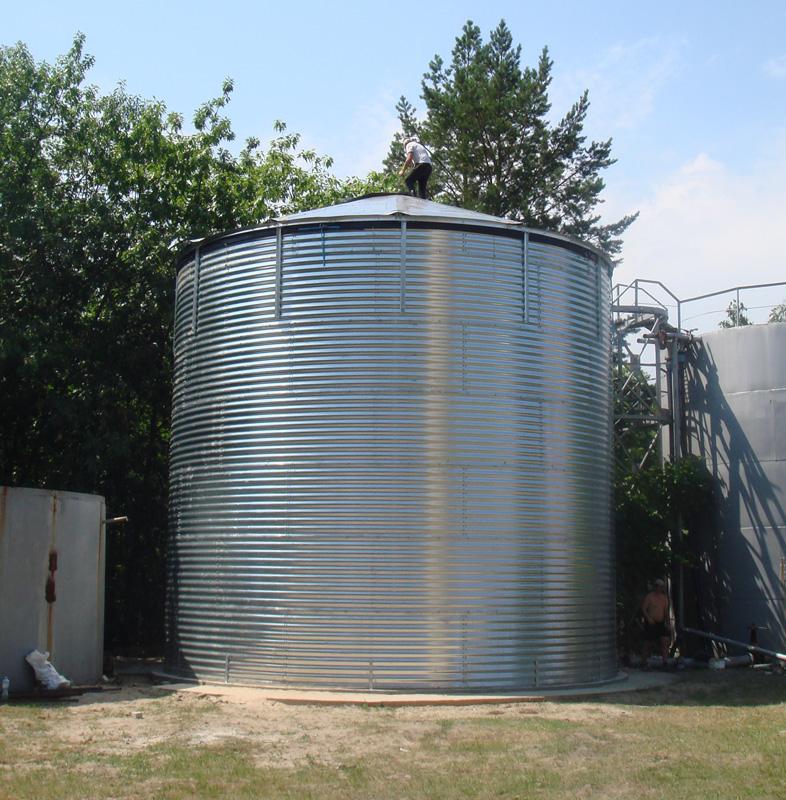 Емкость 400 м³