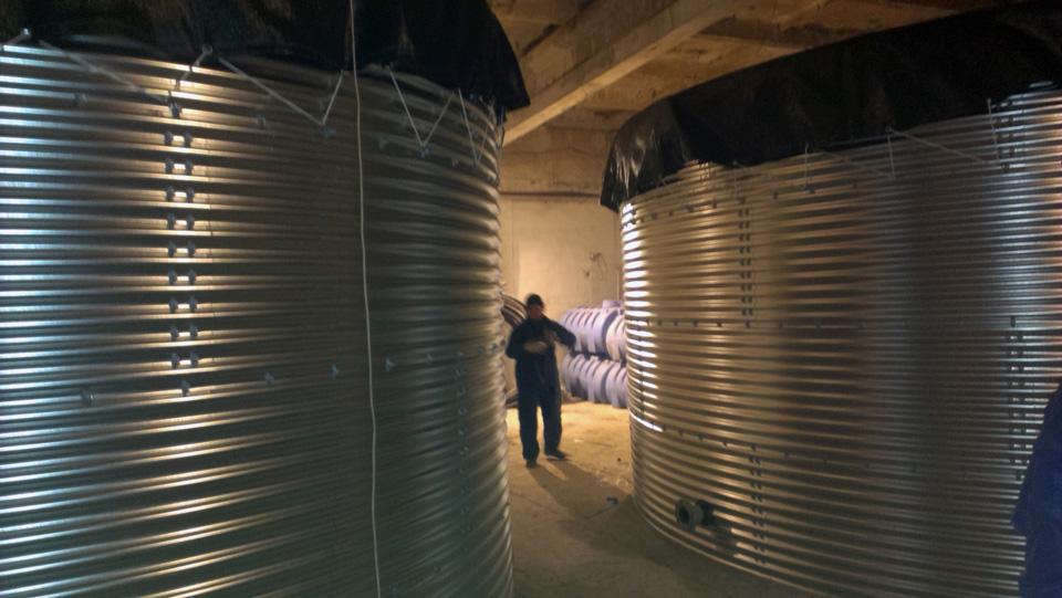 Емкости 50 м³ и 75 м³