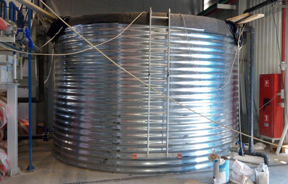 Емкость для водоподготовки 37 м³