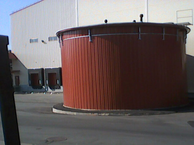 Пожежний резервуар 243 м³