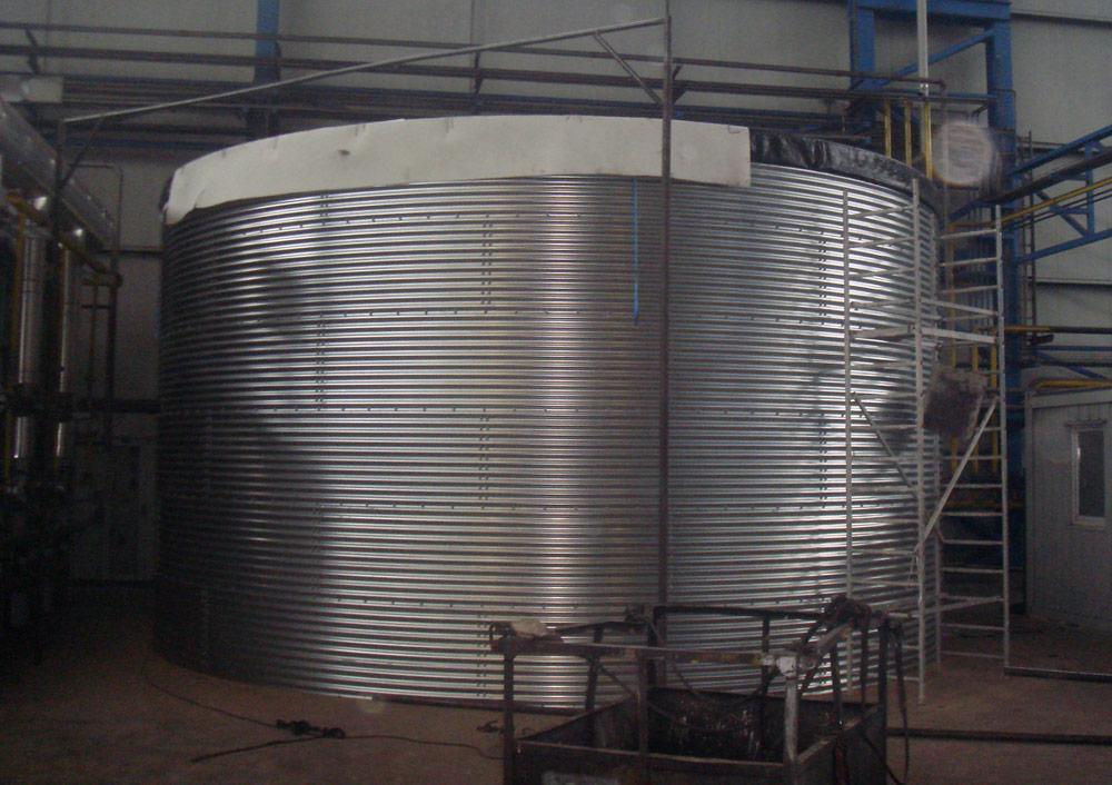Ємність для гальванічних стоків 243 м³