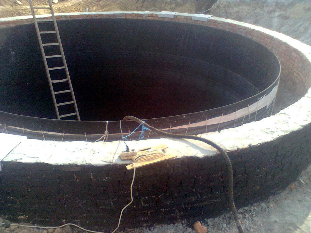 Ємність для стічних вод 122 м³