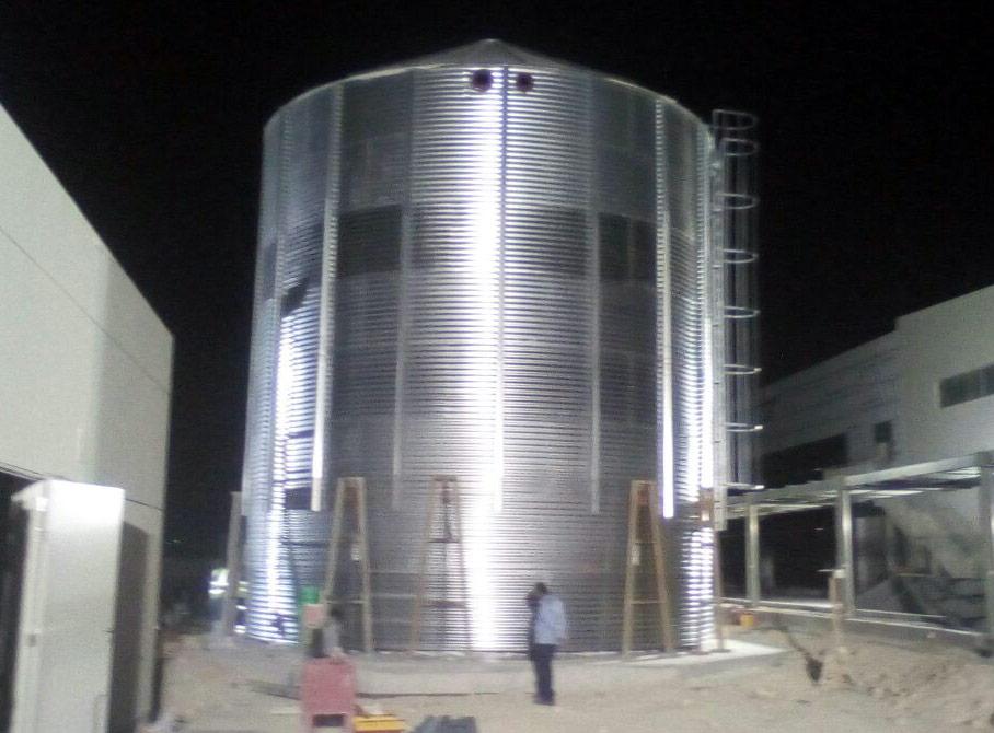 Модульные емкости по 400 м³